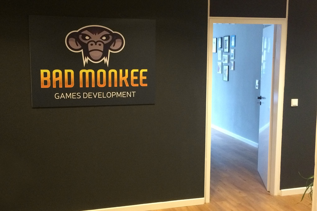 Developers welcome! Entrance to the Monkee habitat.